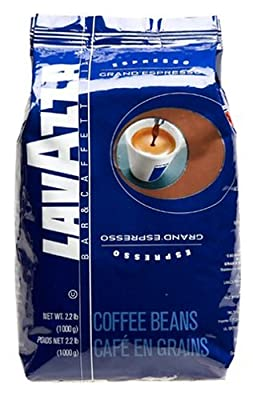 Lavazza Grand Whole Bean Espresso, 2.2-Pound Bag