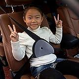 Orangesky Children Car Safety Cover Strap Adjuster Pad Harness Seat Belt Clip (Black)