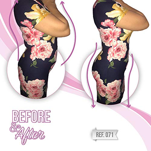 b232dc4943 All About Shapewear Fajas Colombianas Invisible Body Shaper with Medium  Compression Thermal Action