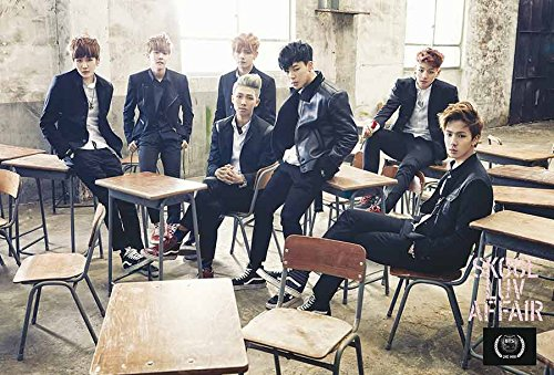 Bts   Skool Luv Affair Bangtan Boys Korea Kpop Boy Band Music Poster Size 24X35 Inch J 4754