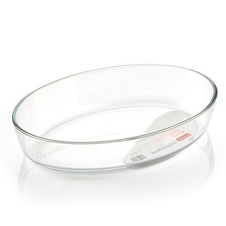 Amazon.com: Oval vidrio para el horno/pan de frutas/horno de ...