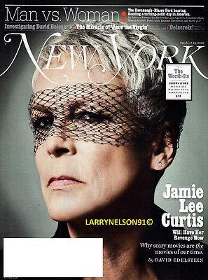 New York Magazine (October 1-14, 2018) Jamie Lee Curtis Cover