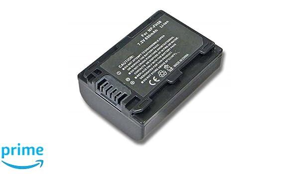 Batería 2x para Sony dcr-dvd-202e dcr-dvd-304e dcr-dvd-407e