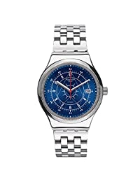 Swatch Men's Sistem51 Irony YIS401G Silver Stainless-Steel Swiss Automatic Watch