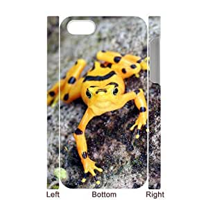 ALICASE Diy 3D Protection Hard Case Frog For Iphone 5C [Pattern-1]