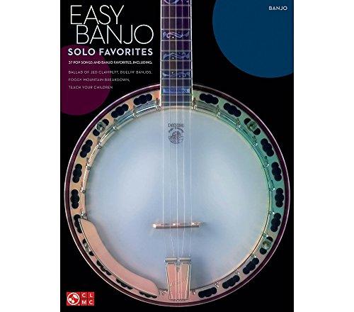 Hal Leonard Easy Banjo Solo Favorites banjo -