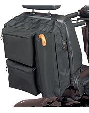 Homecraft Deluxe Roller Bag, zakken met ritssluiting voor gewatteerde opslag, waterdicht polyester, opslag voor krukken en wandelstokken.