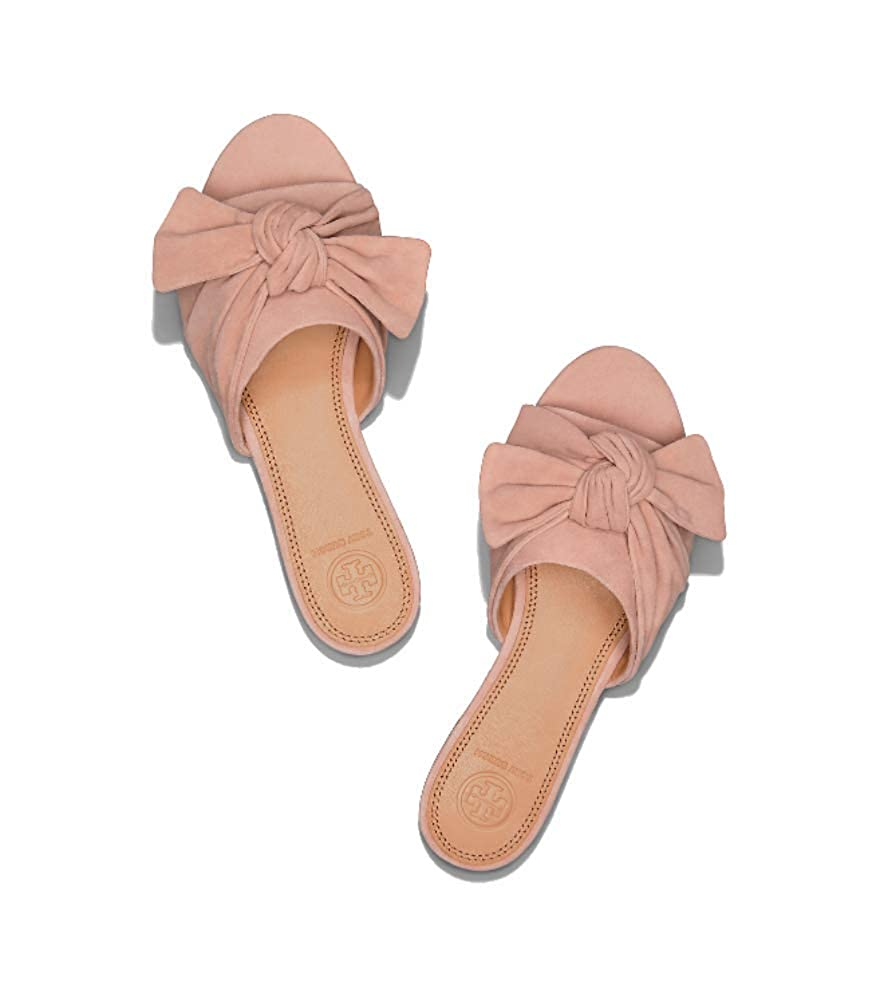 6f91f2d58fd664 Amazon.com  Tory Burch Annabelle Suede Bow Slide Sandals