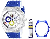 "TechnoMarine Unisex 114023E Cruise Italy ""Tribute to Soccer"" Interchangeable Strap Watch Set"