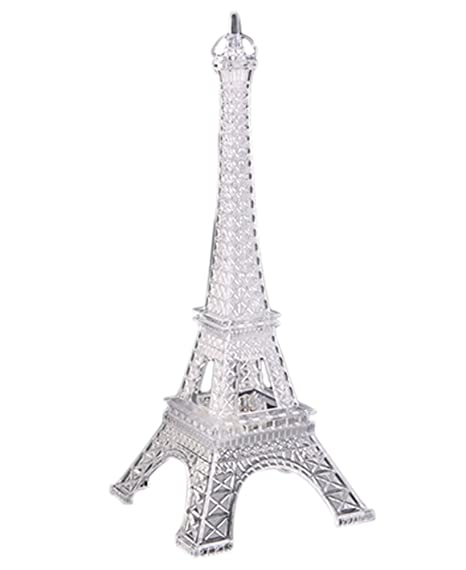 Bluelans® Christmas Decorations 7 Colour Changing LED Clear Eiffel Tower  Decoration Light Night Light - Bluelans® Christmas Decorations 7 Colour Changing LED Clear Eiffel