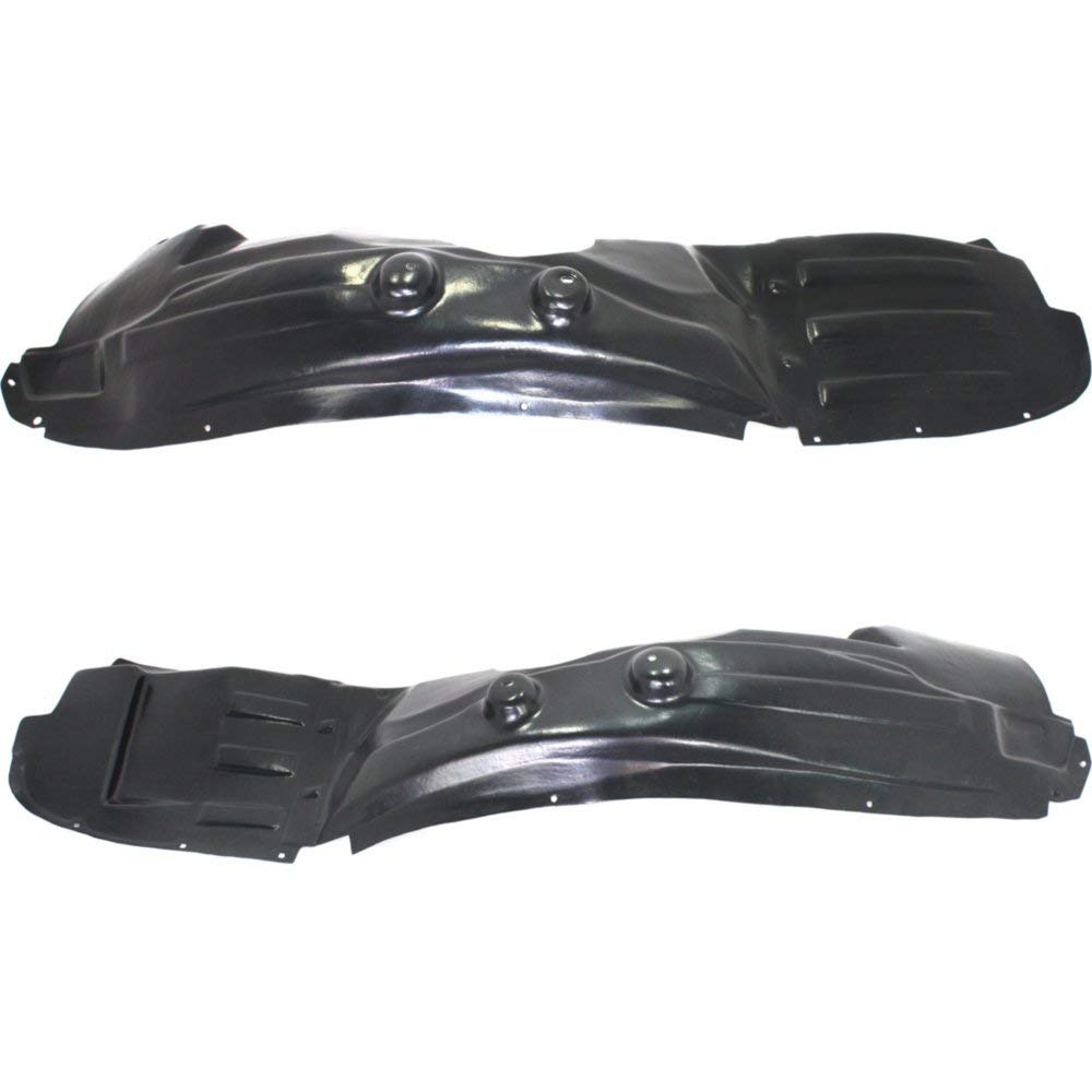 Splash Shield Front Left and Right Side Fender Liner Set of 2 Plastic for JOURNEY 09-16
