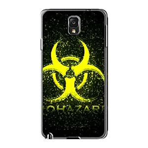 KevinCormack Samsung Galaxy Note3 Best Cell-phone Hard Covers Customized Vivid Biohazard Band Series [PbC7444RwqX]