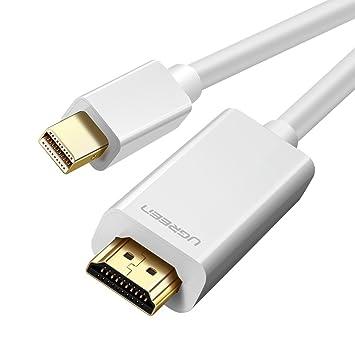 UGREEN Cable Mini DisplayPort a HDMI, Adaptador Convertidor Mini ...