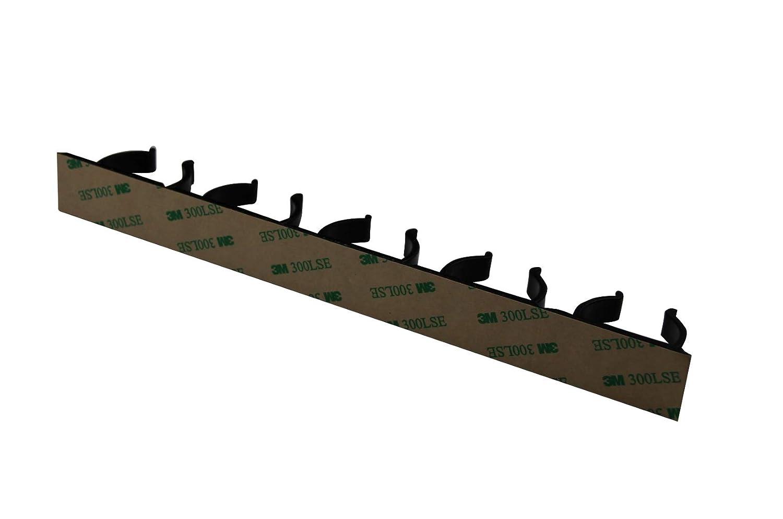 Kamoro HOME /& KITCHEN Estanter/ía para Especias sin Agujeros 6 Tiras para 30 Especias Organizador para Especias para Pegar