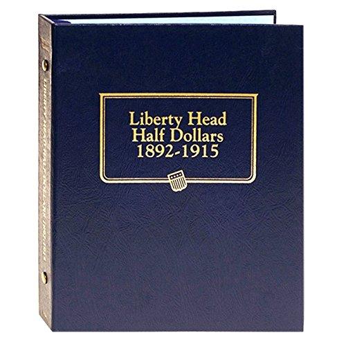 (Whitman US Liberty Head (Barber) Half Dollar Coin Album 1892 - 1915 #9124)