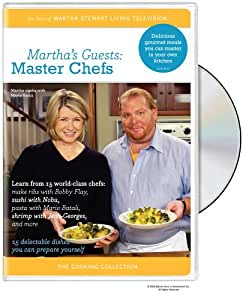The Martha Stewart Cooking Collection - Martha's Guests - Master Chefs