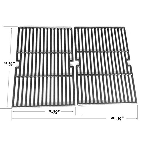 Cast Cooking Grates For Master Chef 85-3040-4, 85-3041-2, 85-3044-6, 85-3045-4, 85-3098-8, 85-3099-6, 85-3106-0 Gas Models