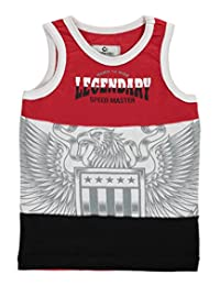 "Akademiks Little Boys' Toddler ""Speed Master"" Tank Top"