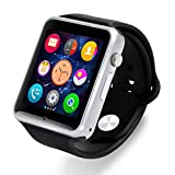 Bluetooth Android Watch 3G Phone with Camera E118 (Black)