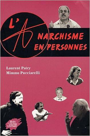 Couverture de Anarchisme en personnes -l-
