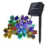 Innoo Tech Solar String Lights Outdoor Flower Garden Light 21ft 50 LED Multi ...
