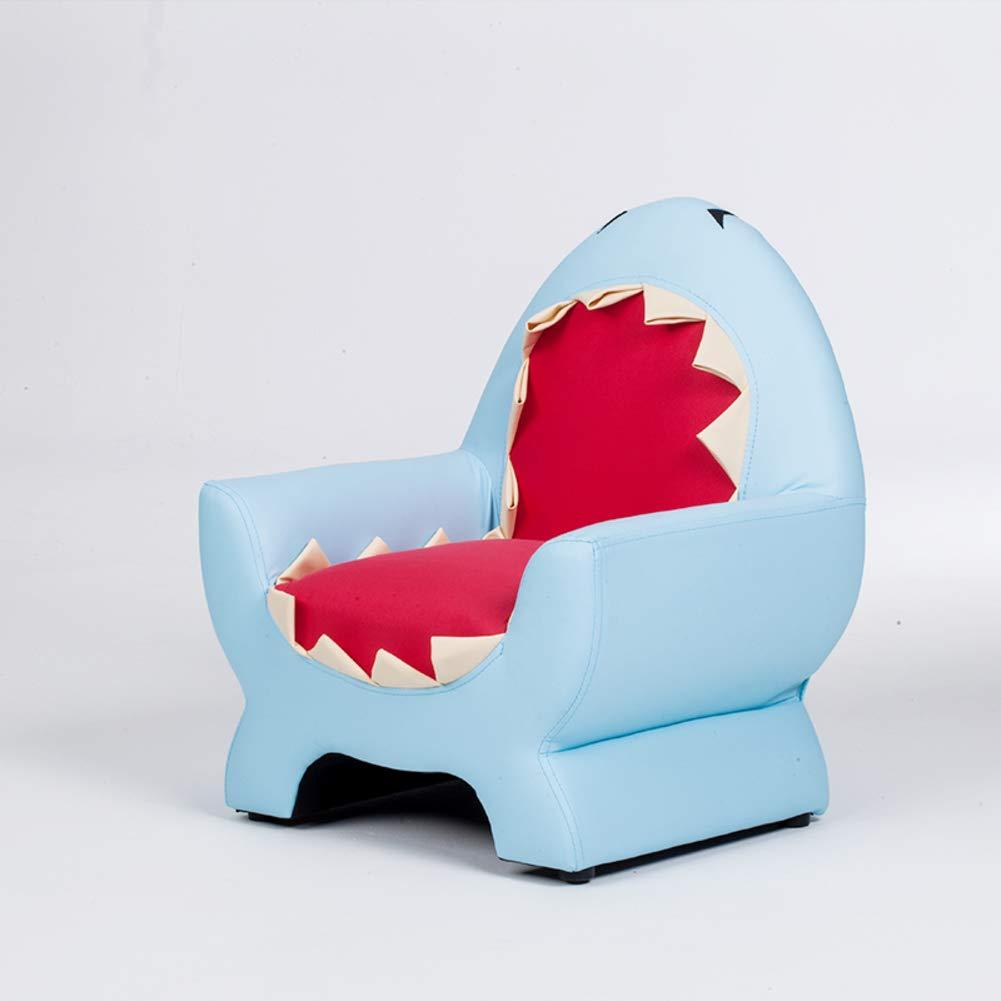 子どもソファ, 子供用 ソファ 椅子 男 1 赤ちゃん 小さなソファー かわいい 動物 漫画 席 子供部屋 ミニソファ-青 52x40x58cm(20x16x23inch) B07GLVLTCP 青 52x40x58cm(20x16x23inch)