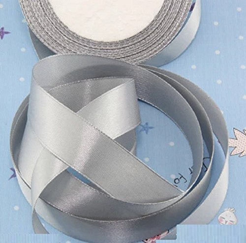 HG-X @ Fashion Pastel Color Double Face Satin Ribbon Grosgrain Ribbon for Handcraft--25 Yards - Satin Ribbon Grosgrain