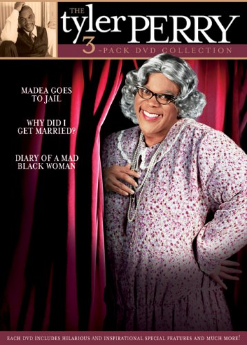 DVD : The Tyler Perry Collection (Gift Set, Full Frame, , Dolby, 3 Disc)