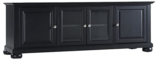 Crosley Furniture Alexandria 60-inch Low-Profile TV Stand, Black