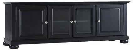 8b5fd886424b Crosley Furniture KF10005ABK Alexandria 60-inch Low-Profile TV Stand Black