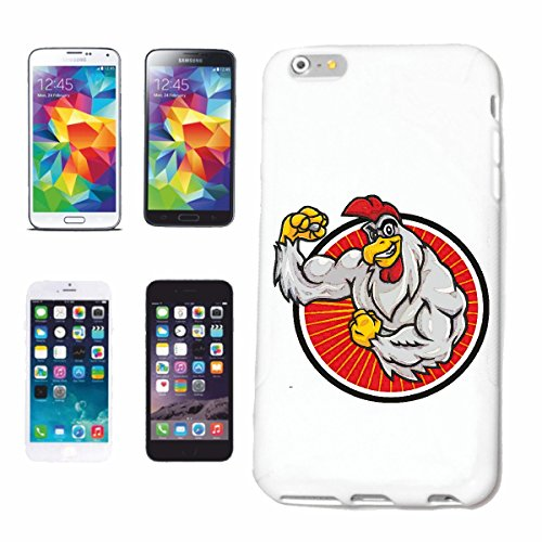 "cas de téléphone iPhone 7S ""GOCKEL COCK POULET FAIT MOTOR SPORTS BODYBUILDING GYMNASE Musculation GYMNASE muskelaufbau SUPPLEMENTS WEIGHTLIFTING BODYBUILDER"" Hard Case Cover Téléphone Covers Smart Cov"