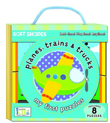 Soft Shapes My First Puzzles Planes, Trains and Trucks!