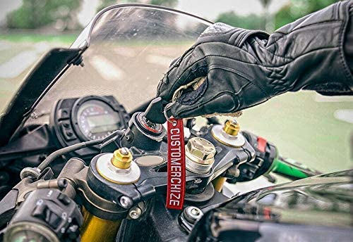 Brillianne Custom/Embroidered/KeyChain/Car/Biker/Personalised/Text/Keyring/Fob/Name/Tag/Bag