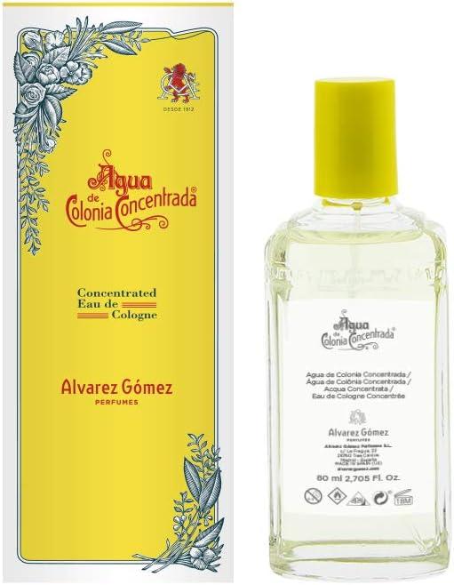 Alvarez Gomez - Agua de Colonia Concentrada - 80 ml: Amazon.es