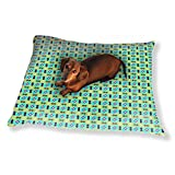 Patches All Over Dog Pillow Luxury Dog Cat Pet Bed