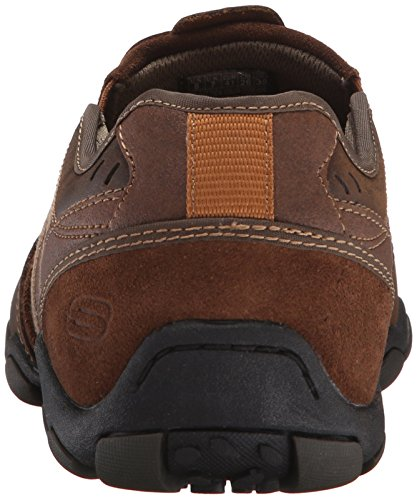 Marron Mocassini Marrone Brown Zinroy Skechers da Uomo Diameter fqFz0F