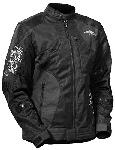 - Castle X Women's Prism Black and Gray Motorcycle Jacket Size X-Large