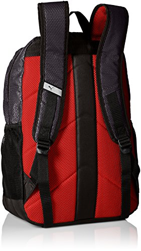 PUMA Men's Contender Backpack 2 Heat seal PUMA cat logo PUMA offers performance and sport-inspired lifestyle products in categories such as soccer, running, training, golf and more Pockets: 4 interior slip, 1 interior zip, 2 exterior