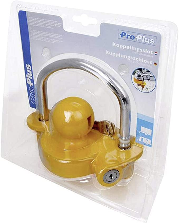 ProPlus 341329 Coupling Hitch Lock with Cylinder