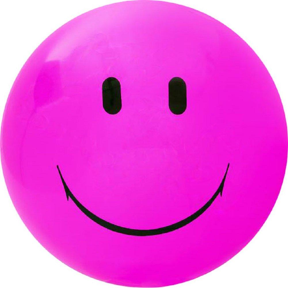 Jumbo Smile Face Playground Ball - 2 Pack (Pink)