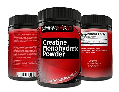 Pure Creatine Monohydrate Powder Performance Supplement S...