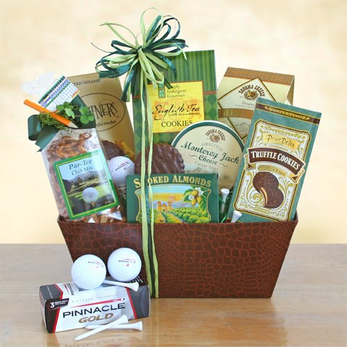 Gourmet Golfing Gift - St. Patrick's Day Fore Golfer's -Gourmet Golfing Gift Basket
