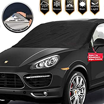 Amazon Com Magnetic Windshield Cover Huge Size Fits Any