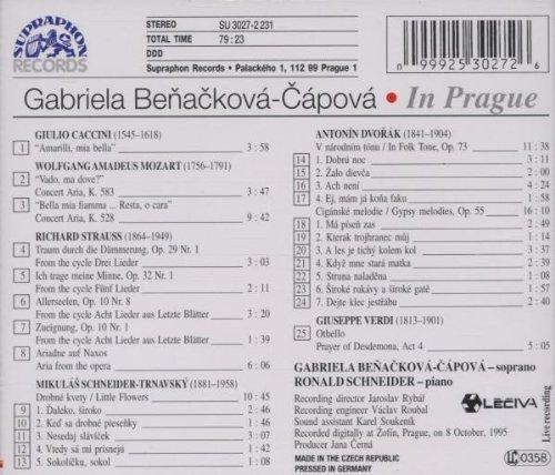 Benackova in Prague Live