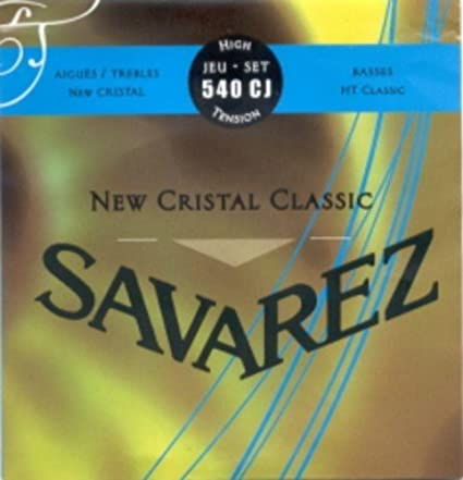 CUERDAS GUITARRA CLASICA - Savarez (540/CJ) New Crystal Classic ...