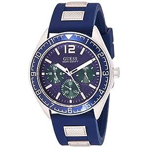 Guess Analog Blue Dial Men's Watch-W1167G1