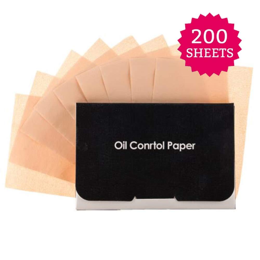Hojas de papel absorbentes de aceite, papeles secantes para maquillaje