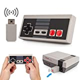 Wireless NES Mini Classic Rechargeable Controller,NES Wireless Gamepad For Nintendo Mini NES Classic Edition, Wireless Joypad & Gamepads Controller (Nintendo Entertainment System)