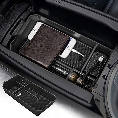 JoyTutus Fits Mercedes Benz C GLC Class W205 Center Console Organizer Tray