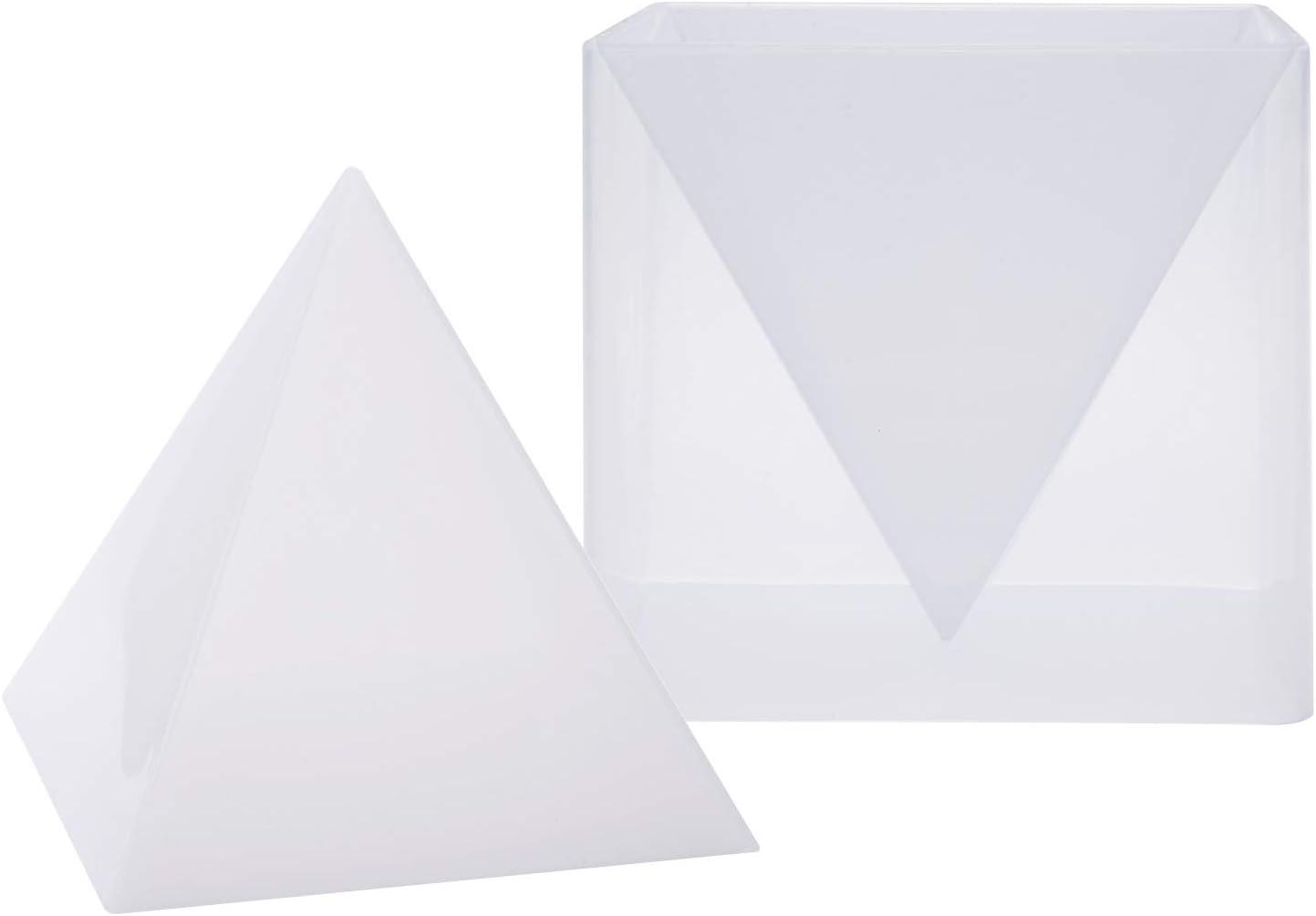 Molde de silicona Resina Artesanía. Piramide